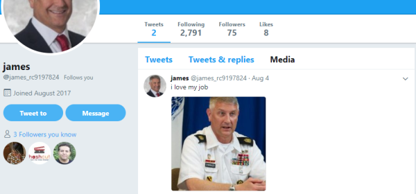 Likely Twitterbot Account